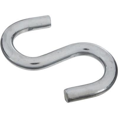 National 3-1/2 In. Zinc Heavy Open S Hook