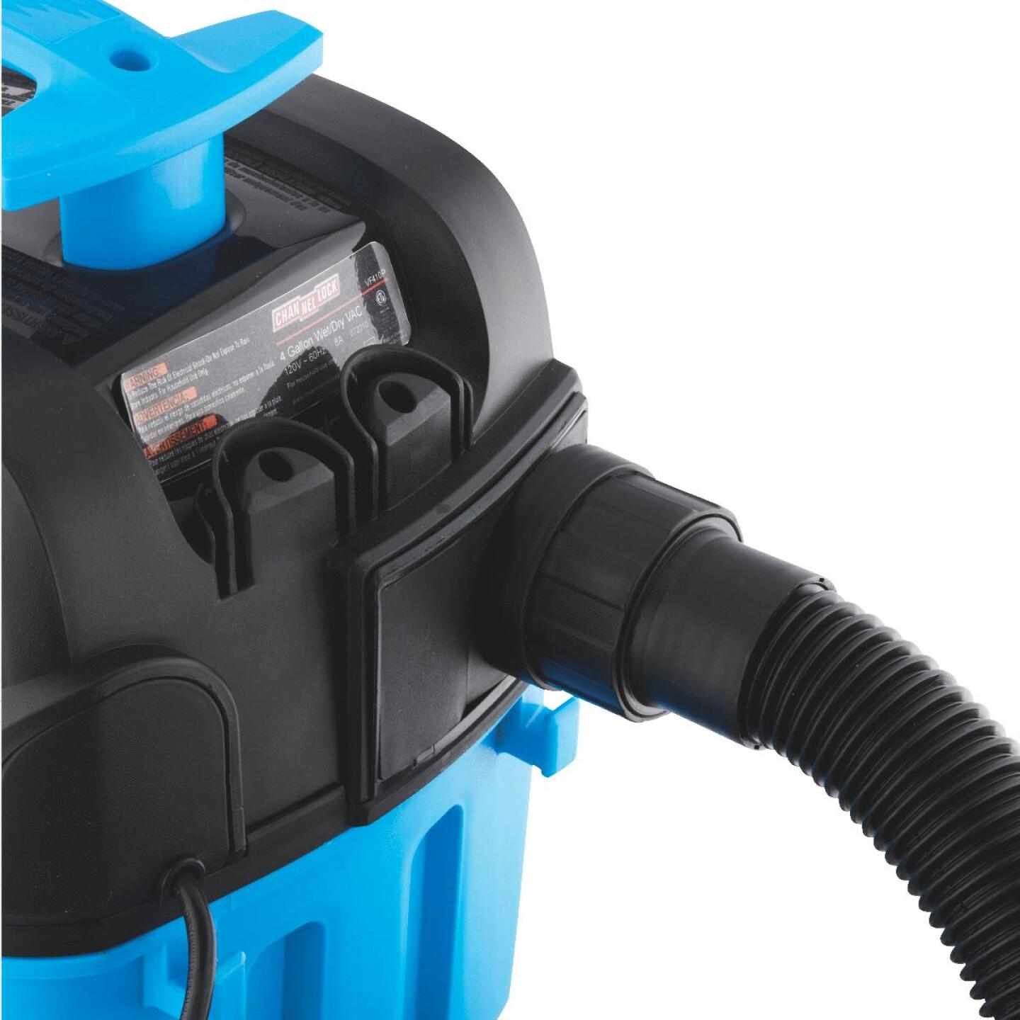 Channellock 4 Gal. 5.0-Peak HP Contractor Wet/Dry Vacuum Image 10