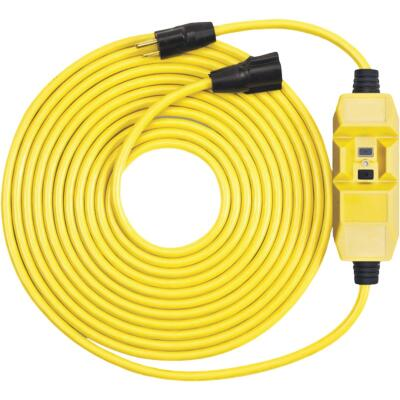 Southwire 25 Ft. 14/3 Heavy-Duty GFCI In-Line Extension Cord