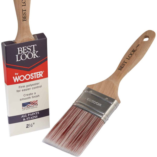 Best Look By Wooster 2-1/2 In. Flat Paint Brush