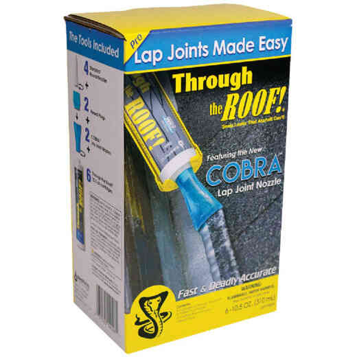 Cobra Lap Joint Nozzle System with Through The Roof! Sealant